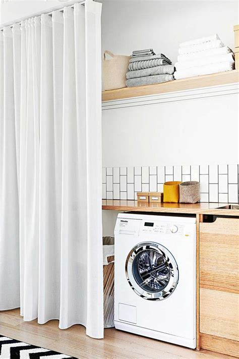 25 best ideas about laundry room curtains on