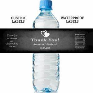 personalized wedding favors cheap custom wedding favours With cheap water bottle stickers