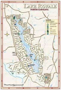 Lake Royale NC Map