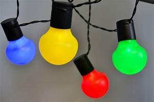Bunte Led Lichterkette : led partylichterkette 5m bunte leds 20er lichterkette kugeln garten party licht ebay ~ Eleganceandgraceweddings.com Haus und Dekorationen