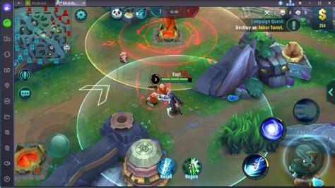 nox mobile legends keyboard settings league  legends