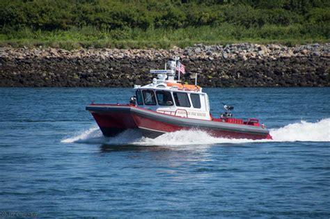 Fire Boat Basin by Cape Cod Fire Rescue Boats