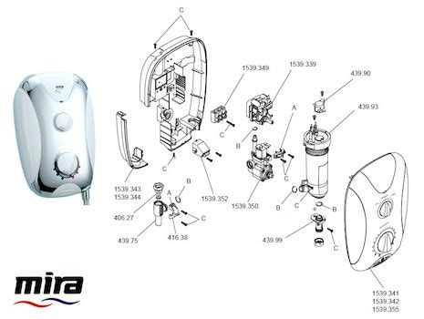 mira play 9 5 kw electric shower mira shower spares mira spare parts national shower spares