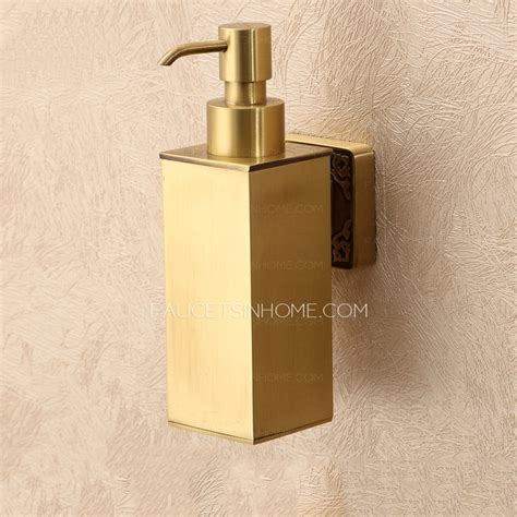 kitchen faucet with soap dispenser bathroom polished brass wall mount soap dispensers