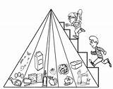 Pyramid Coloring Drawing Stepping Pyramids Egyptian Clipart Printable Egypt Ancient Getdrawings Getcolorings Library Popular sketch template