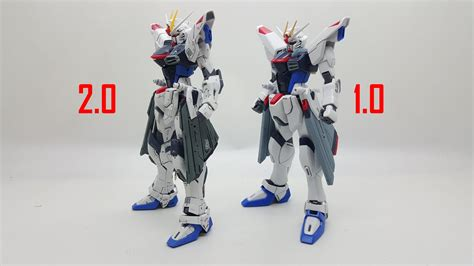 Mg Freedom Gundam 1.0 Vs 2.0
