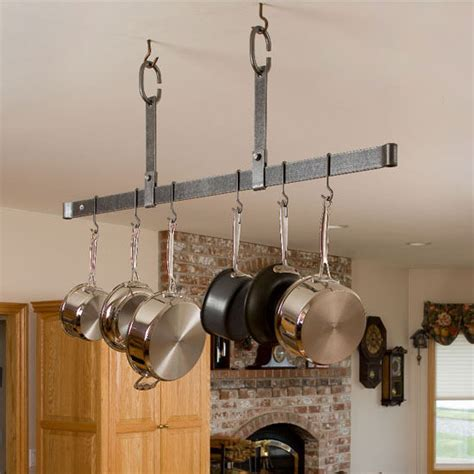 Ceiling Mount Pot Rack by Potracks Premier Collection Pr11 Series Ceiling Mounted
