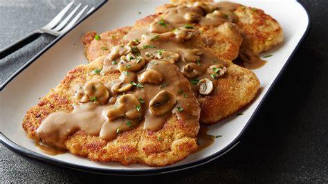 Crispy Fried Pork Chops (Jaeger Schnitzel) Recipe ...