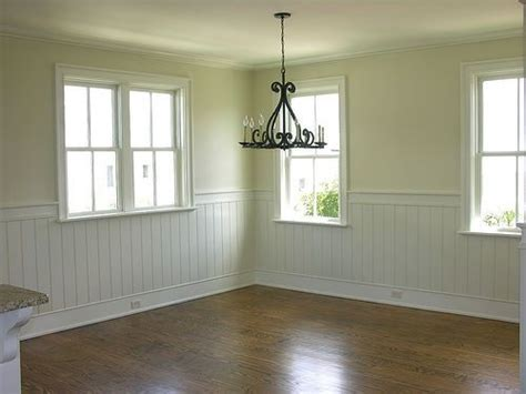 Beadboard Height : Wainscot For The Dining Room