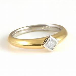 18ct Yellow Gold Diamond Engagement Ring From Wrights