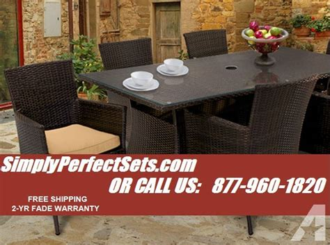 beautiful wicker patio furniture sets at liquidation