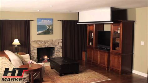 projector screen  elite  ceiling electric home