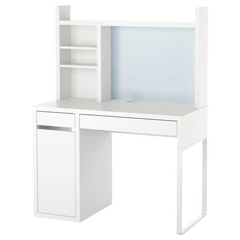 bureau armoire ikea micke workstation white 105x50 cm ikea
