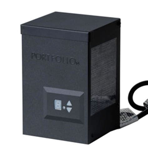 shop portfolio 120 watt landscape lighting power pack with