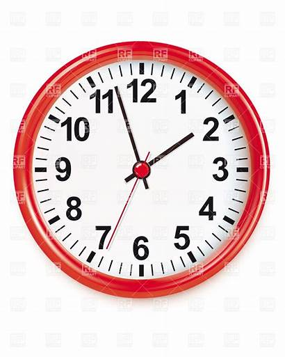 Objects Round Clipart Clock Vectorified