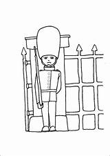 Palace Guard Coloring sketch template