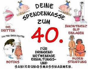 Geldgeschenke Geburtstag 40 : freche spendendose 30 40 50 geburtstag geldgeschenk ~ Frokenaadalensverden.com Haus und Dekorationen