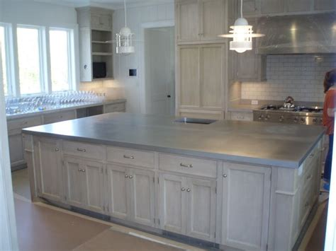 zinc top kitchen island 17 best images about zinc countertops on 1710