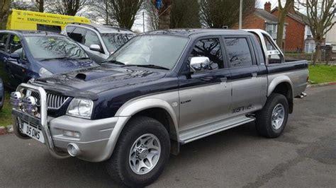 2005 Mitsubishi L200 2.4diesel 4x4 Pick Up Truck ++central