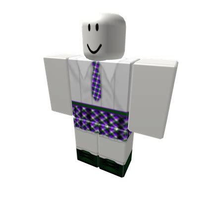 ROBLOX high school uniform purple - Roblox