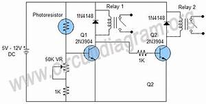 Day Night Switch Wiring Diagram 12v  4 Pin Wiring Diagram