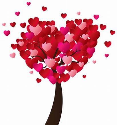 Valentine Clip Heart Transparent Tree Valentines Clipart