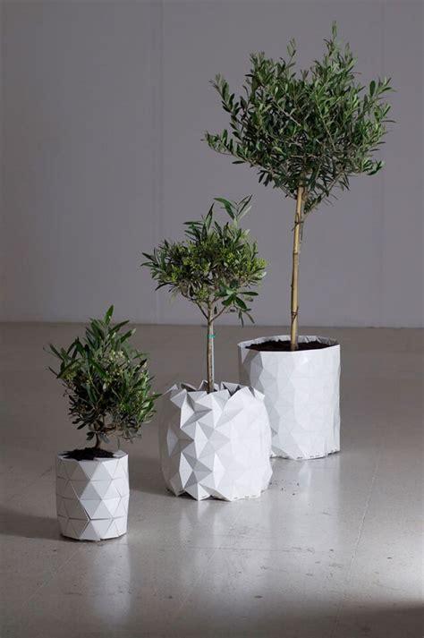 chambre de pousse occasion ce pot de fleur en origami grandit avec sa plante