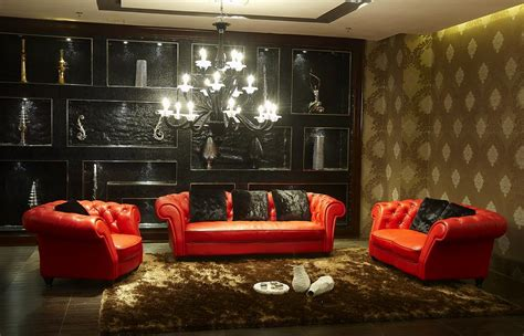 leather sofa living room ideas decorating ideas living room red leather sofa curtain