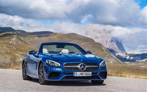 Mercedes Car Wallpaper Hd by 2016 Mercedes Sl Wallpaper Hd Car Wallpapers Id 6045