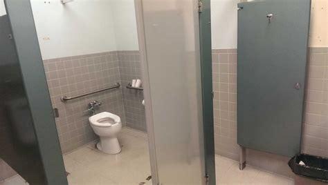 louvered bathroom stall doors madison art center design