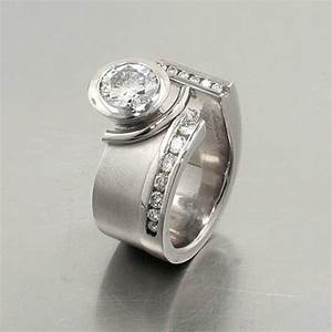Non traditional engagement rings jewelsmith innovative for Non traditional wedding rings for women