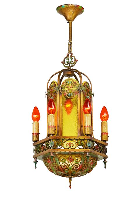 vintage hardware lighting antique  chandelier
