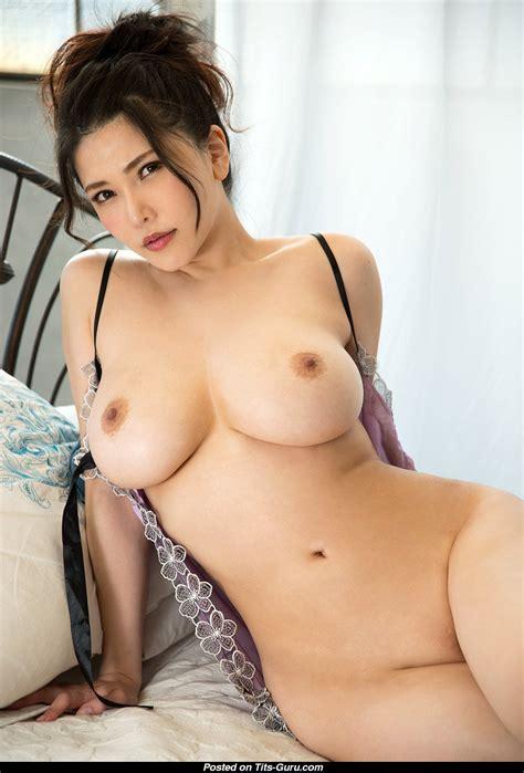 Anri Okita Topless Asian Brunette Pornstar With Bare