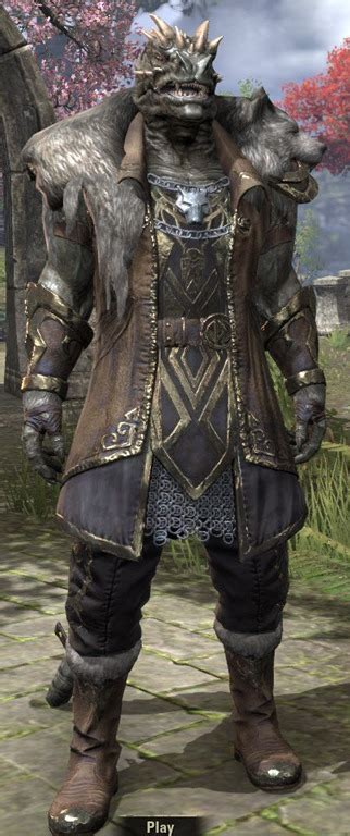 eso fashion werewolf lord elder scrolls