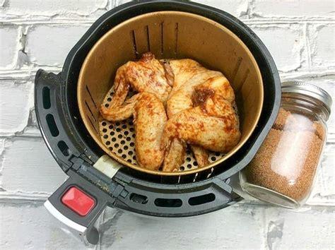 wings fryer air rub dry recipe ever chicken easy crispy recipes