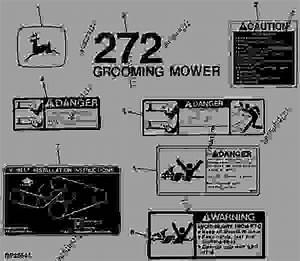 Wiring Diagram Database  John Deere 272 Grooming Mower Diagram