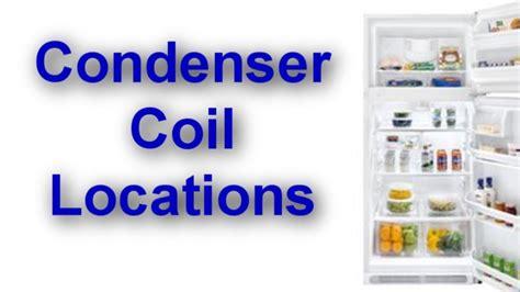 condenser coil location   refrigerator youtube