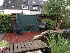 Terrasse Aus Europaletten : terrasse aus europaletten bauanleitung zum selber bauen bine s projekte pinterest ~ Orissabook.com Haus und Dekorationen