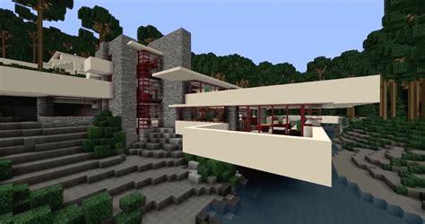 cinco casas de frank lloyd wright recreadas en minecraft