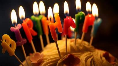 Birthday Happy Wallpapers Candles Lovely