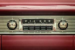 Retro Styled Image Of An Old Car Radio Stock Photo - Image ...