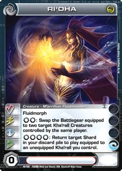 rioha chaotiki  chaotic wiki chaotic cards