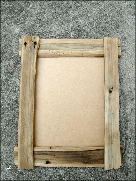 cadre en bois brut et naturel en bois de chataignier d 233 corations murales par flobonneau