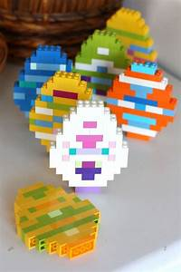lego easter eggs and basic brick building idea for