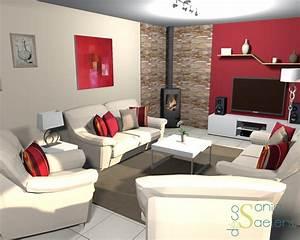 Deco Sejour Moderne : idee deco salon sejour photo 5231 ~ Teatrodelosmanantiales.com Idées de Décoration
