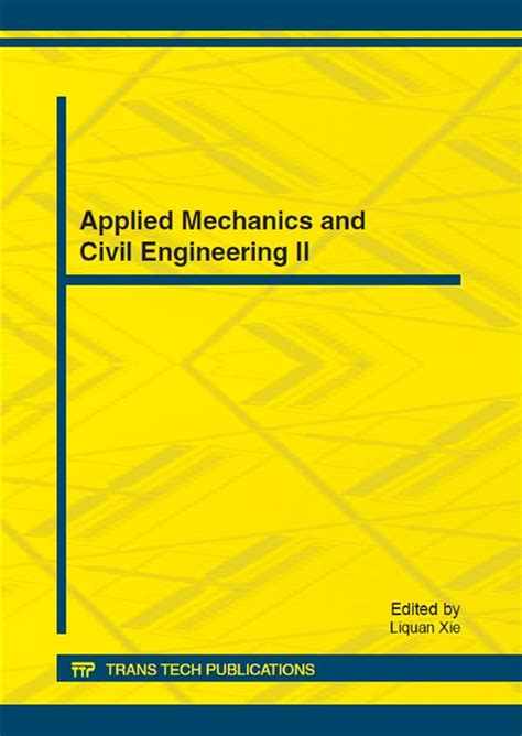 Applied Mechanics and Civil Engineering II