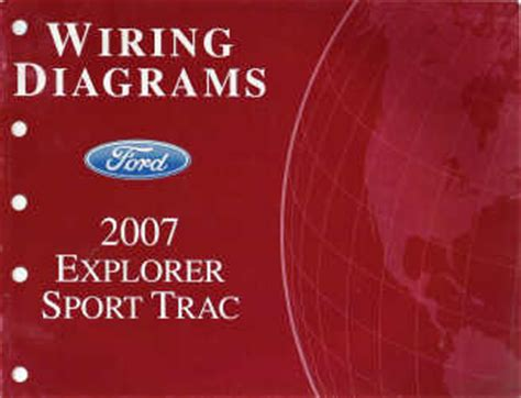 Ford Explorer Sport Trac Wiring Diagrams