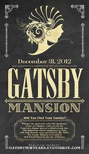 invite great gatsby graphics pinterest type With the great gatsby invitation template