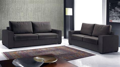 canap 233 italien 3 places en tissu marron canap 233 design
