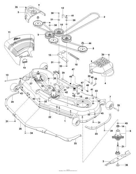 Deck Part Diagram by Husqvarna Z 254 967324301 2015 01 Parts Diagram For